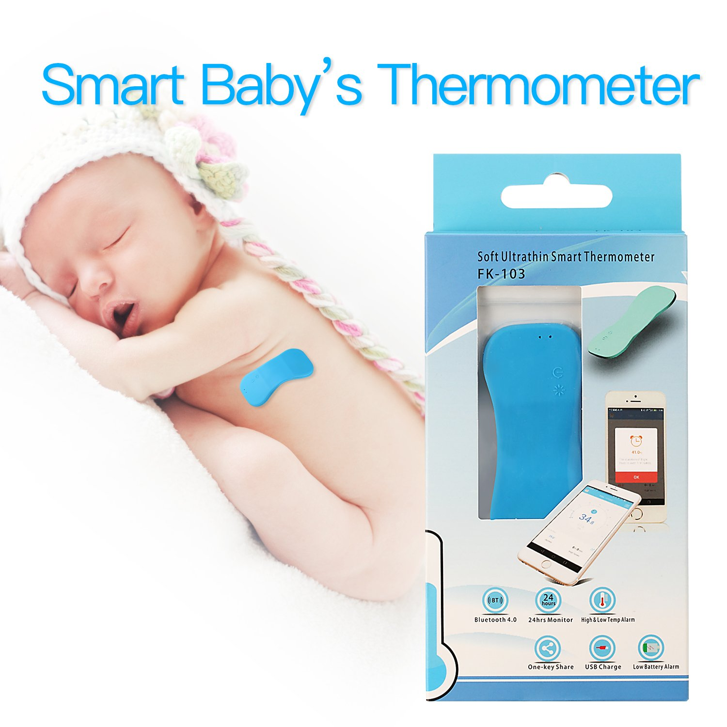 Thermometer Wireless Monitor Smartphone Situation