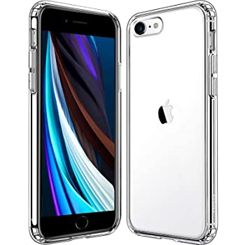 Mkeke Compatible with iPhone SE 2020 Case, Compatible with iPhone 8 Case, Compatible with iPhone 7 Case Clear Cases (Clear)