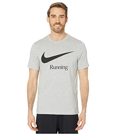 Nike Dry Run HBR (Dark Grey Heather/Black) Men