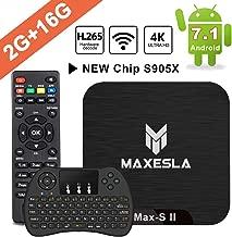 Smart TV Box Android 7.1 - Maxesla MAX-S II Mini TV Box de