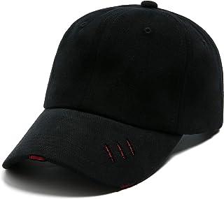 قبعة بيسبول كلاسيكية للرجال والنساء للجنسين من لانزوم قطن عادي مغسولة قابلة للتعديل قبعة أبي