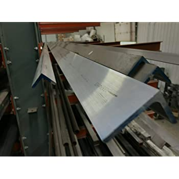 "Aluminum Angle 6063 T52 3/"" x 3/"" x 1//4/"" wall x 36/"""