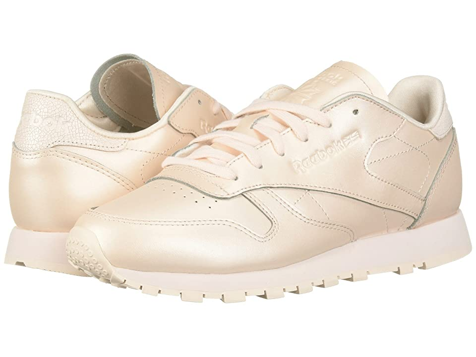 Reebok Lifestyle Classic Leather (Pale Pink) Women