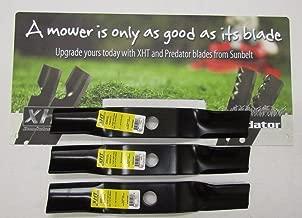 XHT 3 USA Blades for KUBOTA K5583-34340 K558334340 Z723 & Z724 with 48