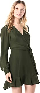 Parker Women's Miles Long Sleeve Tie Waist Dress