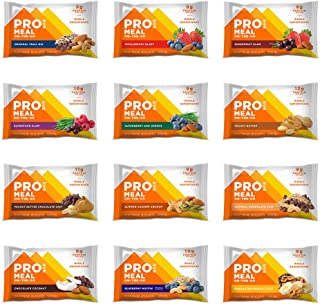 PROBAR - Meal Bar, Variety Pack, Non-GMO, Gluten-Free, Certified Organic, Healthy, Plant-Based Whole Food Ingredients, Natural Energy (12 Count) Packaging May Vary