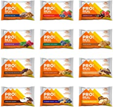 PROBAR - Meal Bar, Variety Pack, Non-GMO, Gluten-Free, Certified Organic, Healthy, Plant-Based Whole Food Ingredients, Natural Energy (12 Count)