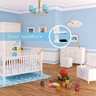 Dengofng Universal Monitor de Bebé Soporte con Correa Flexible Bebé Cámara Montaje Estante Ninguna Perforación a más Seguro Monitor Soporte para Su Bebé Ayuda a a Registro Infantiles Dormir Habit