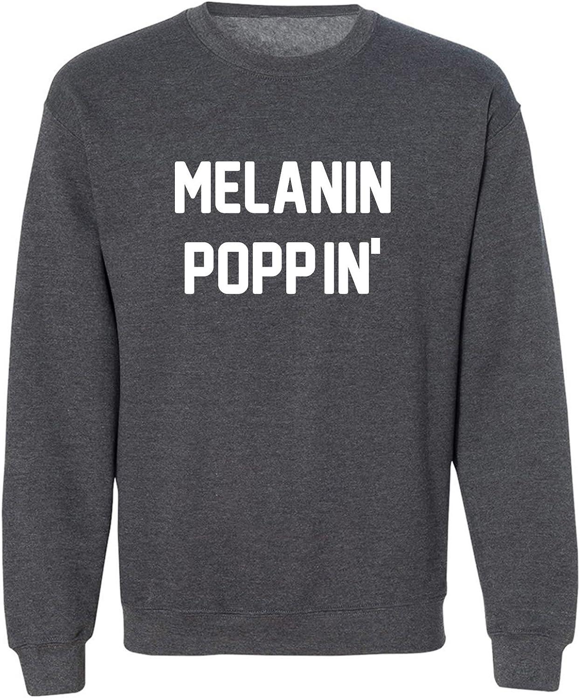 MELANIN POPPIN' Crewneck Sweatshirt