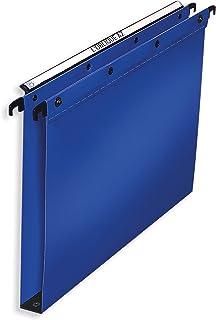 Elba, A4 Suspension Files, Polypropylene, 30 mm Base, Blue, Folders 10