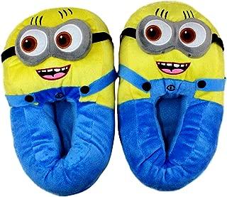 CARRY TRIP Unisex Minion Despicable Me Blue Cotton Slippers