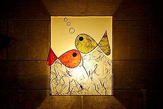 Paralume/Plafoniera da parete/lampada fatta a mano/Pesce/lampada per bambini