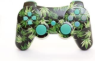 Arsenal Gaming PS3 Bluetooth Controller Multi Leaf Design NEW CURVE Design