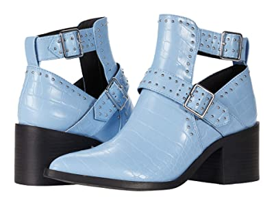 Steve Madden Andy Boot (Blue Croco) Women