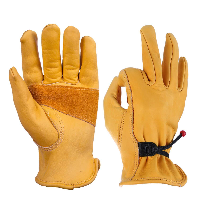 Medium Little Giant Farm and Ag GLVMD Giant Goatskin Gloves