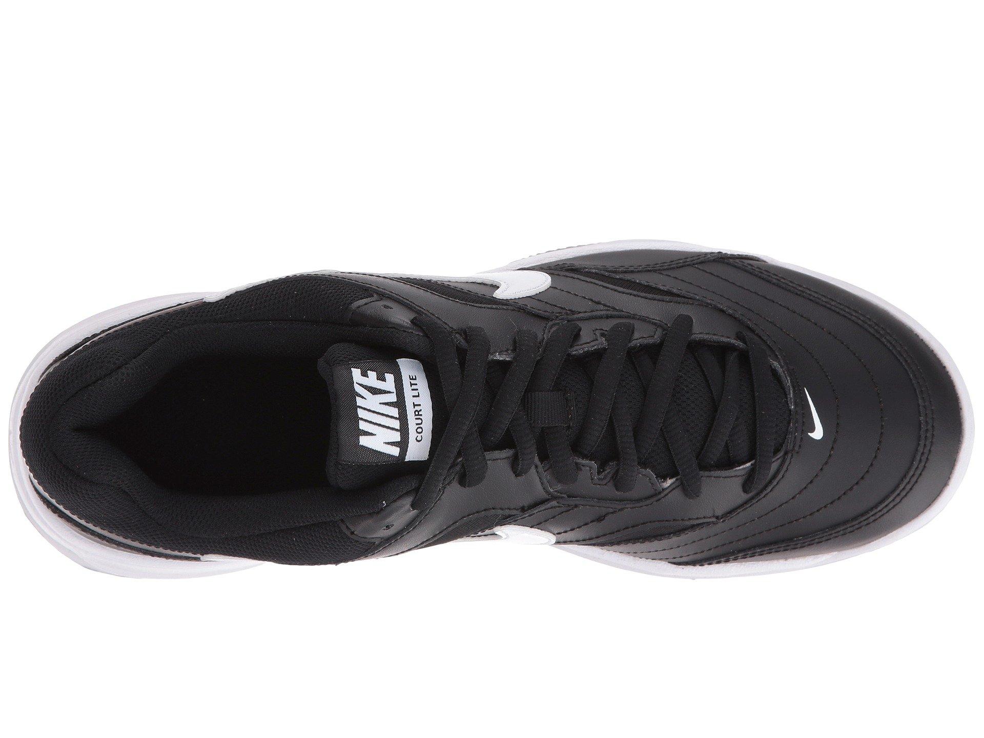 white Grey Lite Court Nike Black medium wXIIqz