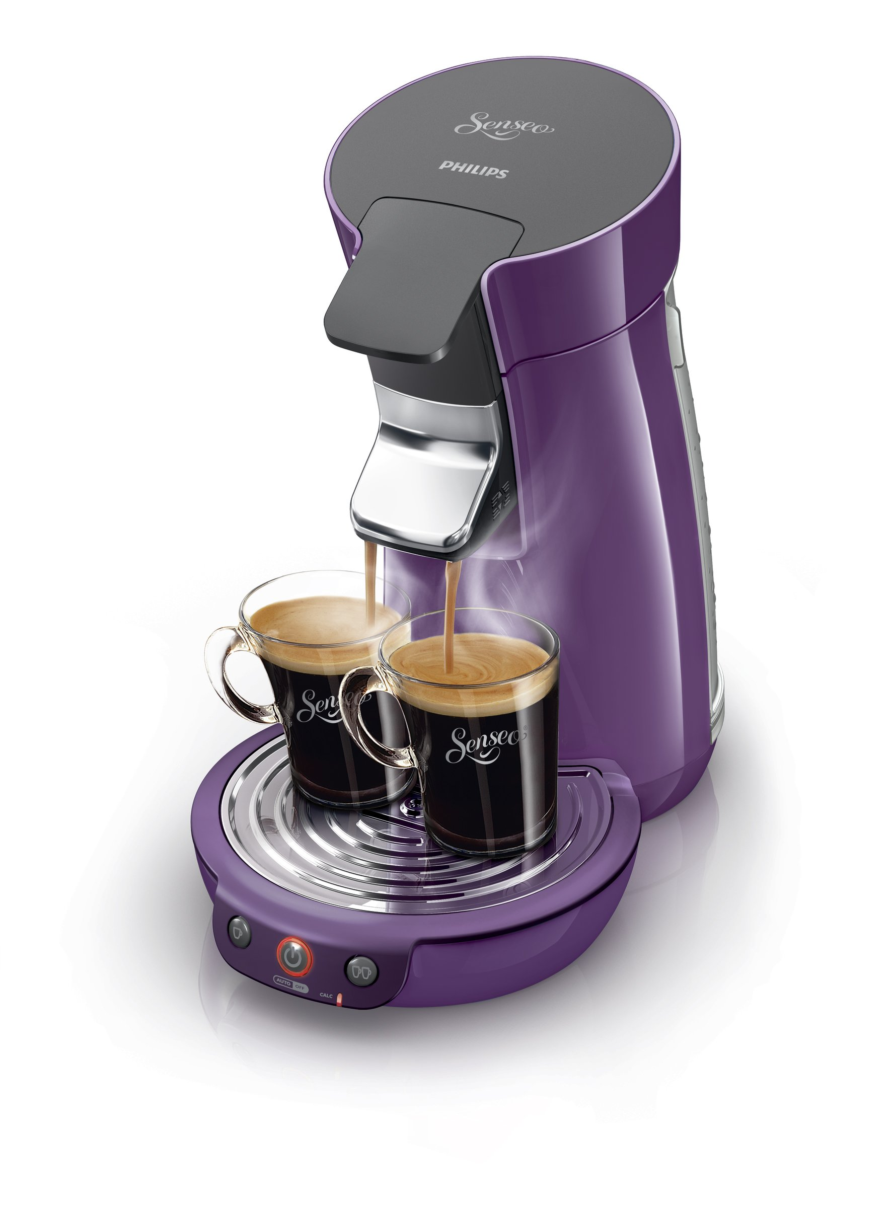 Philips Senseo Viva Café - Cafetera monodosis, color morado ...