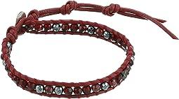 Garnet Single Bracelet