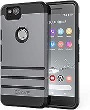 Google Pixel 2 Case, Crave Strong Guard Protection Series Case for Google Pixel 2 - Slate