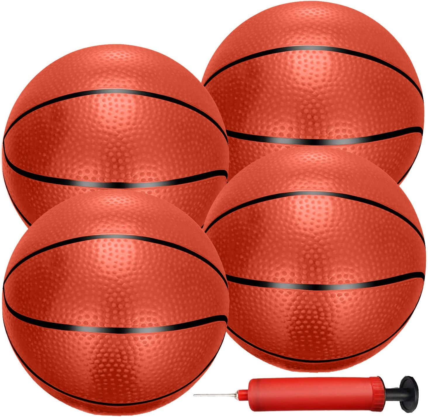 Liberty Imports 4 PCS Inflatable Mini Basketball Toy Replacement