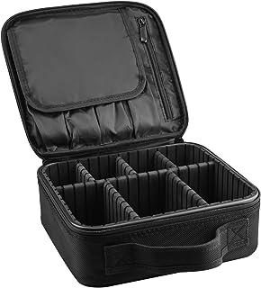 ArcEnCiel メイクボックス プロ用 メイクブラシ 化粧道具 小物収納 コスメボックス