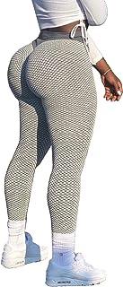 High Waist Leggings for Women Butt Lift Tummy Control...