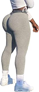High Waist Leggings for Women Butt Lift Tummy Control Yoga Pants Gym Workout Booty Scrunch Tights