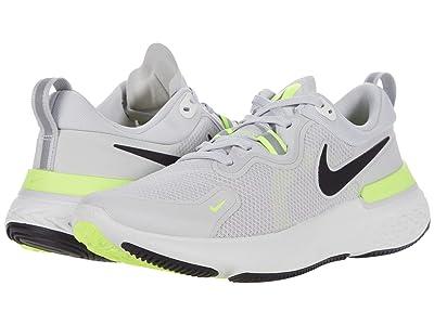 Nike React Miler (Grey Fog/Black/Particle Grey/Volt) Men