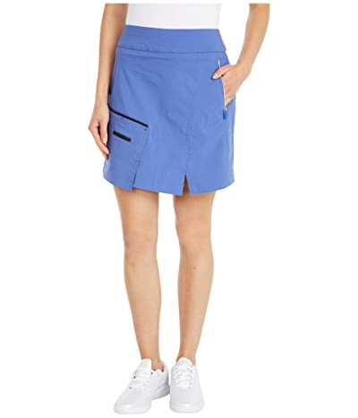 Jamie Sadock Skinnylicious Skort with Control Top Panel (Slate) Women