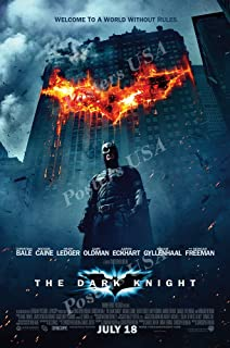 "DC The Dark Knight Batman Movie Poster Glossy Finish Made in USA - FIL207 (24"" x 36"" (61cm x 91.5cm))"