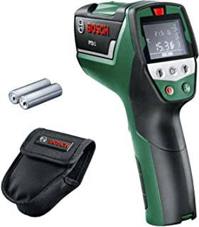 Bosch 0603683000 PTD 1 Thermal Detector ( 2x AA Batteries, in Protective Case), Black, Green, Red, 7.9 cm*34.0 cm*19.0 cm