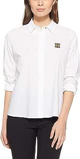Tommy Hilfiger Women's WW0WW23605-White Shirts