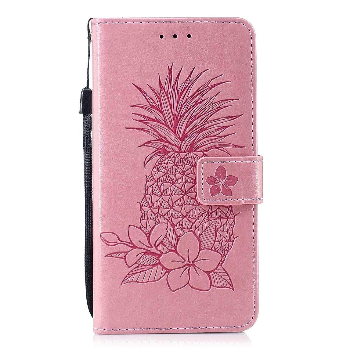返還錆びの間でCUSKING Xiaomi Redmi Note 4 対応 スマホ ケース, 高級 PUレザー 手帳ケース, Xiaomi Redmi Note 4 衝撃吸収 保護ケース 財布型 ケース スタンド機能 カード ポケット付き, ピンク