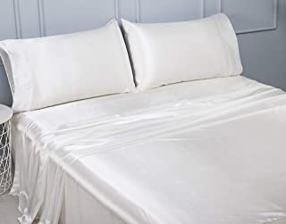 silk sheets single bed