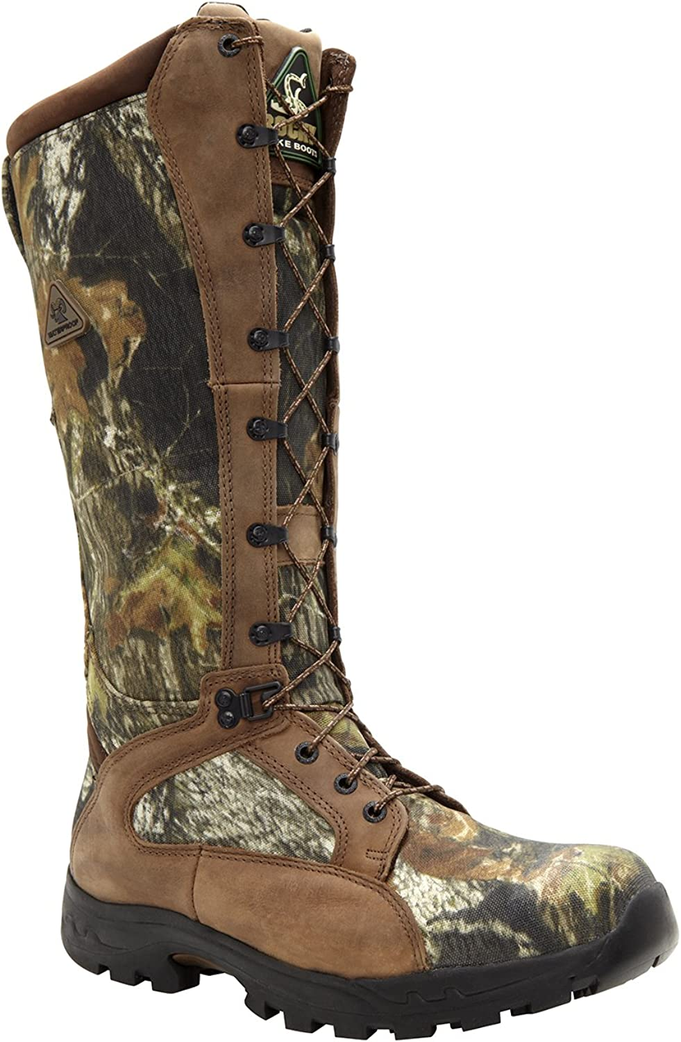 Rocky Men's 16  Prolight Waterproof Snake Proof Hunting Boot-1570 (M4.5) Brown