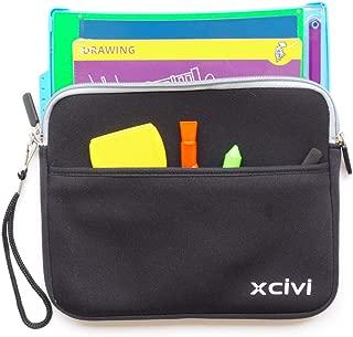 Xcivi Neoprene Protective Carry Case for Boogie Board Magic Sketch Kit (Black)