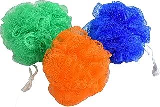 JE JIS-08 Bath Scrubber (Blue,Orange&Green) Set of 3
