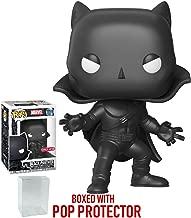 Funko Pop! Marvel: Black Panther - 1966 Mask & Cape Black Panther #311 Target Exclusive Vinyl Figure (Bundled with Pop Box Protector Case)