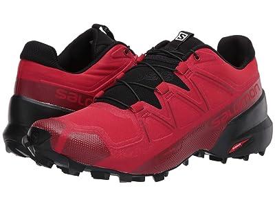 Salomon Speedcross 5 (Barbados Cherry/Black/Red Dahlia) Men