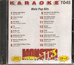 Monster #1045 Karaoke CDG MALE 90'S POP & ROCK HITS