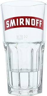 Smirnoff No. 21 Harley Glas mit Logo, Vodka Wodka Longdrink Alkohol Drink Glas, 300 ml, 100363