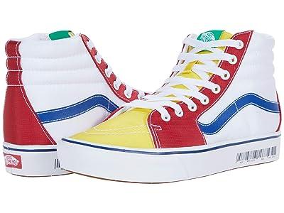 Vans ComfyCush SK8-Hi ((Retro Mart) Barcode/Multi) Athletic Shoes