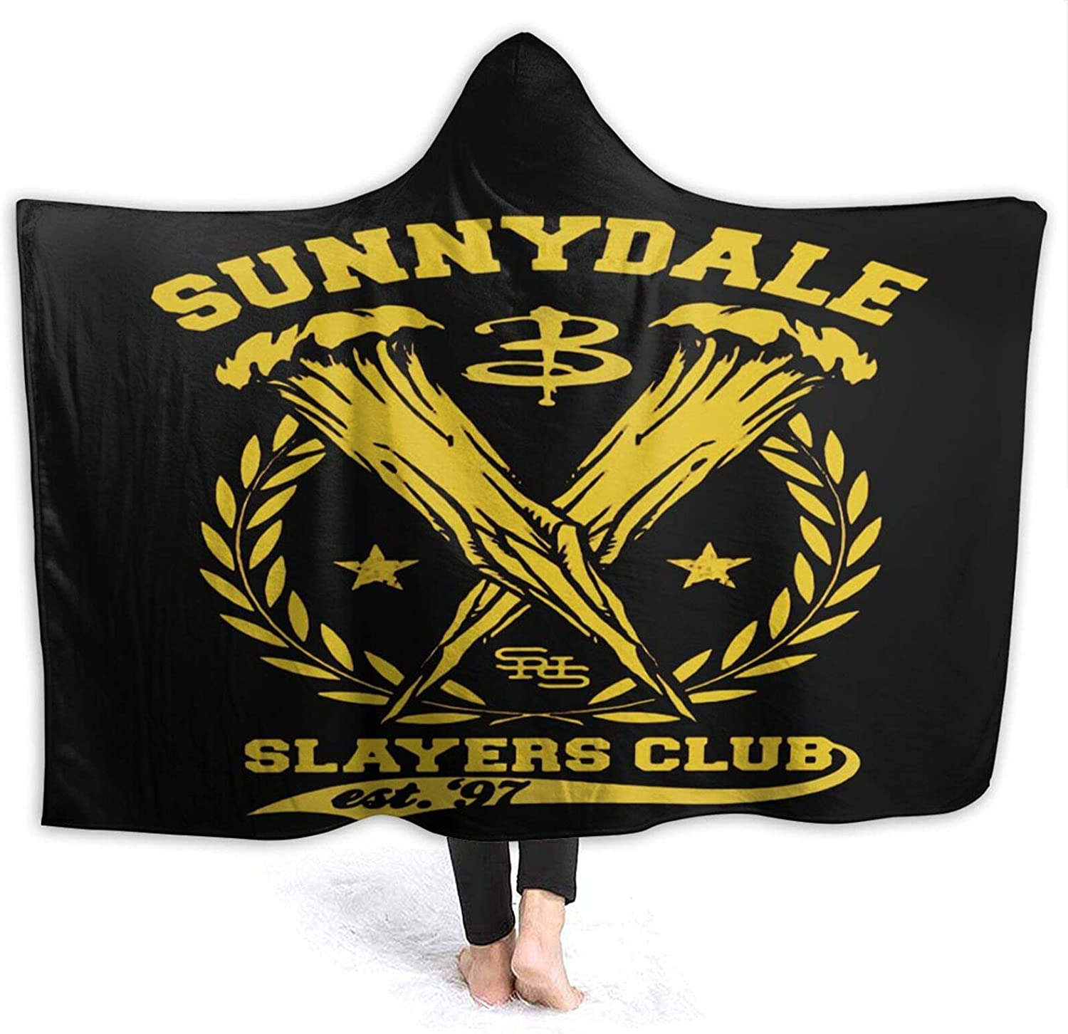 Buffy The Max 51% OFF Vampire Slayer Hooded Blanket 2021 autumn and winter new with Wearable Ho