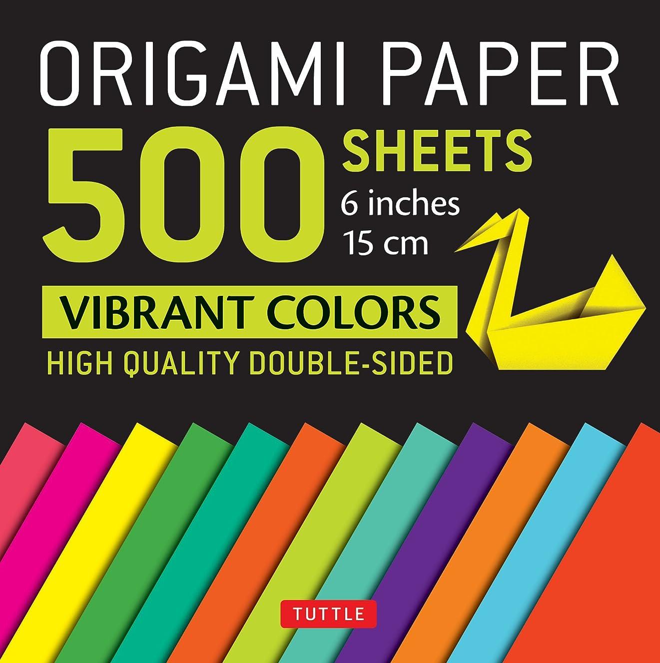 Origami Paper 500 sheets Vibrant Colors 6