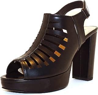 Hype Women's Heeled Gladiator Sandal ZD9392 (Estelle)