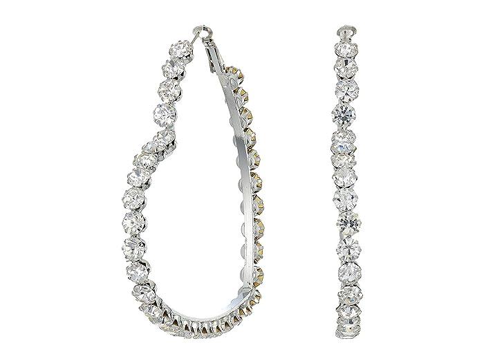 8 Other Reasons  Heartbreaker Hoops Earrings (Silver) Earring