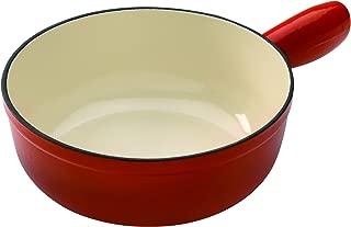 Kuhn Rikon Induction Cast Iron Fondue Pot, 7.87
