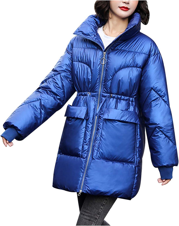 Women's Winter Down Puffer Coat Thicken Coat ,Parka Padded Wind/water proof Zipper Outwear Overcoat