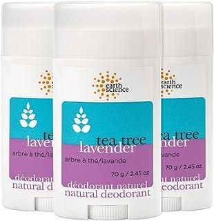 EARTH SCIENCE - Aluminum-Free Natural Lavender and Tea Tree Deodorant (3pk, 2.45 oz.)
