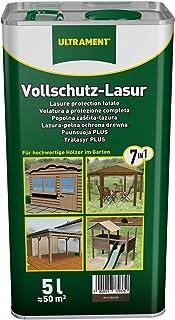 Ultrament Vollschutz-Lasur 7-in-1, nussbaum, 5l
